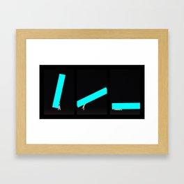 BK1-triptyque Framed Art Print