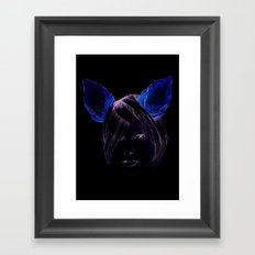 Chihuahua girl Framed Art Print