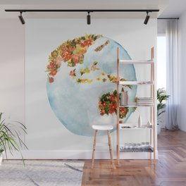 Blooming Earth Wall Mural