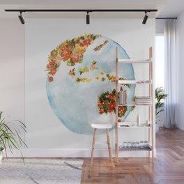 Blooming Earth Wall Mural