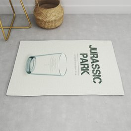 Jurassic Park - Alternative Movie Poster Rug