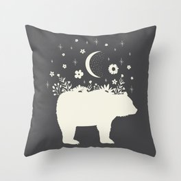 Medicine Bear Throw Pillow