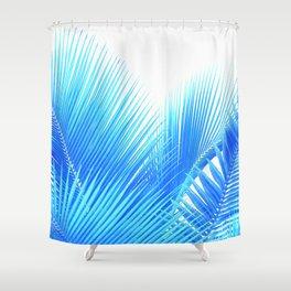 Winter Palm Shower Curtain