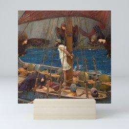 Ulysses and the Sirens - John William Waterhouse Mini Art Print