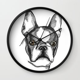 Cocó the frenchie Wall Clock