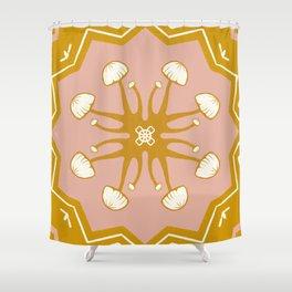 Mushie Mandala Shower Curtain