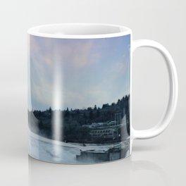 A CHILLY WINTER WILLAMETTE FALLS SUNSET Coffee Mug