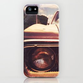 Rusty And Blue - America As Album Art iPhone Case