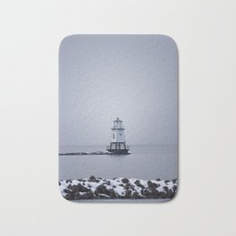 Burlington Breakwater North Lighthouse Bath Mat