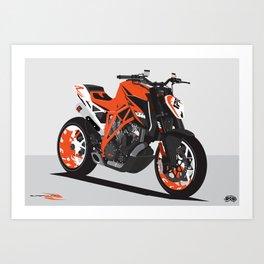 Super Duke 1290 Art Print
