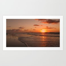 Wildwood Beach Sunrise II Art Print