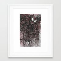 carnage Framed Art Prints featuring CARNAGE by Jay Allen Hansen