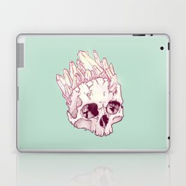 Skull No.2 // The Cristallized One Laptop & iPad Skin