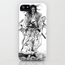 Vagabond chapter 195 iPhone Case