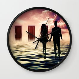 Come Join Me Wall Clock
