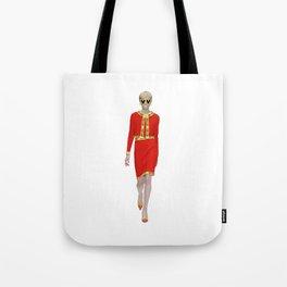 Runway Moschino Girl McDonalds Tote Bag