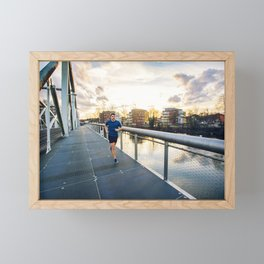 Healthy lifestyle Framed Mini Art Print