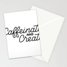 Caffeinate and Create Stationery Cards