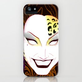 The panther, Bianca  iPhone Case