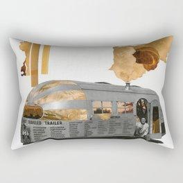 All Around The World Rectangular Pillow