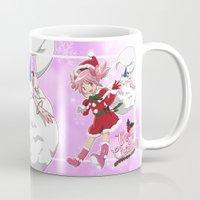 madoka Mugs featuring Merry Christmas Madoka Kaname by Neo Crystal Tokyo