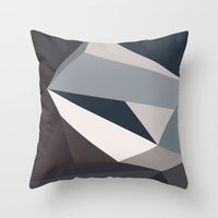 urban Throw Pillows featuring Urban by Deadly Designer
