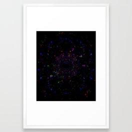 BLACK-EYE-SUN Framed Art Print
