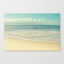 Kapalua Beach Honokahua Maui Hawaii Canvas Print