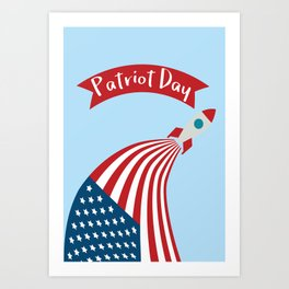 Patriot Day - September 11 - Send the best Wish to those who suffered Art Print