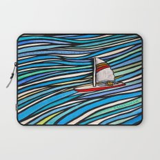 Wind Over Water Laptop Sleeve
