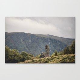 Glendalough Mountain Monastery Canvas Print