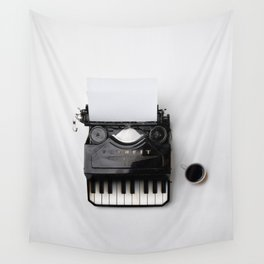On a musical note Wall Tapestry