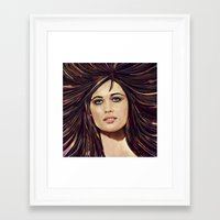 passion Framed Art Prints featuring Passion by Balazs Pakozdi