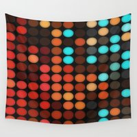 disco Wall Tapestries featuring Disco by DuckyB