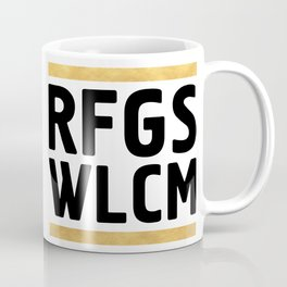 RFGS WLCM - Refugees Welcome Coffee Mug