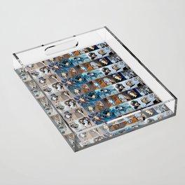 Blues Acrylic Tray