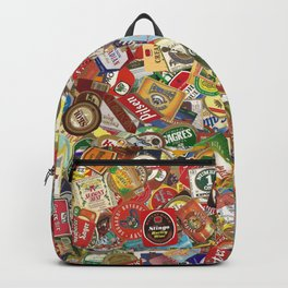Another Beer Labels Backpack