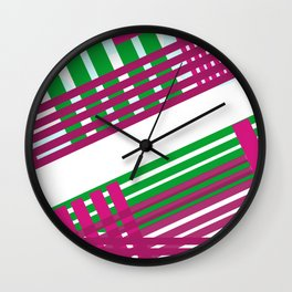 City happyness Wall Clock