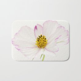 Sensation Cosmos White Bloom Bath Mat