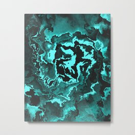 The King Of The Abyss Metal Print