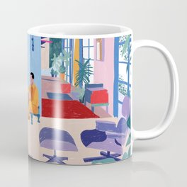 Eames House - Pencil illustration Coffee Mug