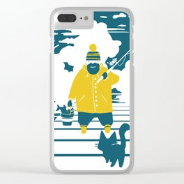 Lunch Clear iPhone Case
