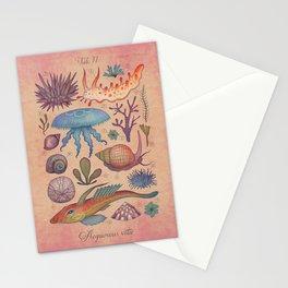 Aequoreus vita II / Marine life II Stationery Cards