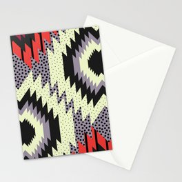 Ethnic fun with dots Stationery Cards
