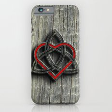 Celtic Knotwork Valentine Heart Wood Texture Slim Case iPhone 6s