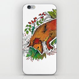 Hi! my name is Fox iPhone Skin