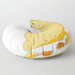 Sly Cat Monster Floor Pillow