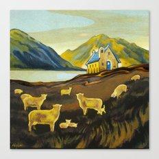 The Good Shepherd, Lake Tekapo Canvas Print