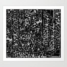 Hardware Art Print