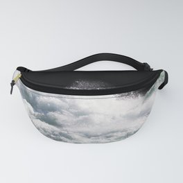 Water Photography | Wild Rapids | Waves | Ocean | Sea Minimalism Fanny Pack